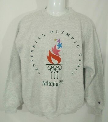 Vintage Champion 1996 Atlanta Olympics Crewneck Sweatshirt Size XL Made in USA