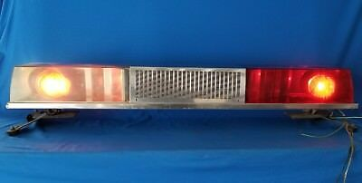 Federal signal twin sonic vintage light bar 32500 picclick federal signal twin sonic vintage light bar aloadofball Image collections