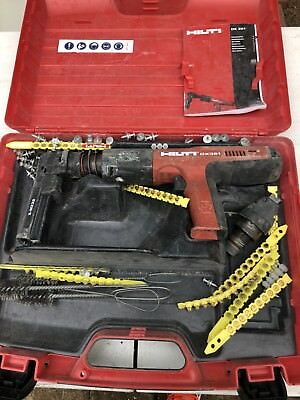 Hilti DX 351 Powder Actuated Nailer w/ Case & Accessories
