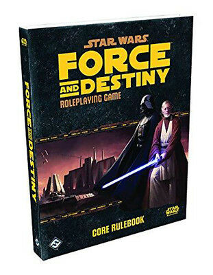 Star Wars Force and Destiny Core Rulebook - RPG - Englisch - English