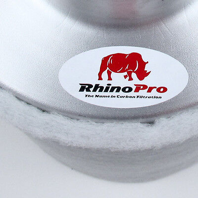 Rhino Pro 255 M³/H 100 MM Flange Activated Carbon Filter Akf Grow Exhaust