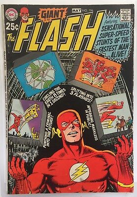 The Flash #196 (Vg+) Giant G-70. Dc Comics.