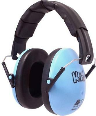 Edz Kidz Ear Defenders Earmuffs Hearing Safety Gear Ear Protection Children Blue