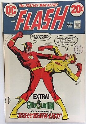 The Flash #220. DC (1973) VFN- Condition.