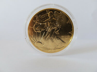 Walking Liberty and Eagle 2003 1 OZ. Fine Silver One Dollar