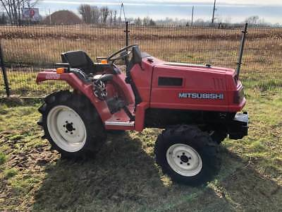 Mitsubishi MT17 - compact tractor with rotary tiller - only 4 850 GBP incl. VAT