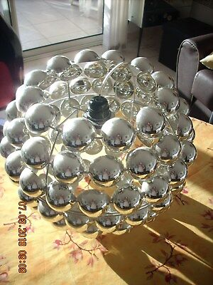 Lustre Vintage Spoutnik Des Annees 60/70 Chrome Collection