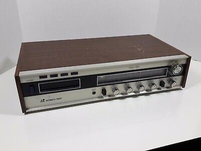 vintage Automatic Radio 8 track player receiver AM FM HMX-4000 tested working