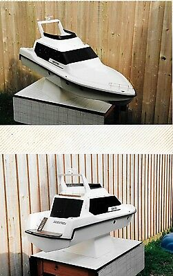 GRP fibreglass radio controlled model boat business.