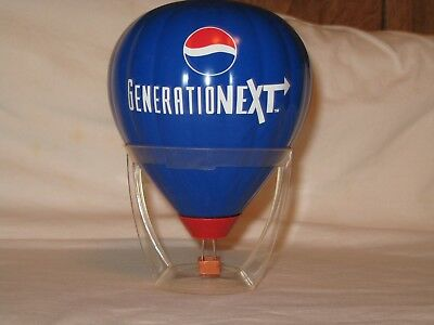 "Pepsi Generation Next Hot Air Ballon Bank - Not Damaged - No Box - 6"" Tall -"