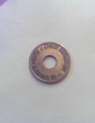 VTG Car Wash Token from France (LAVAGE AUTOMATIQUE) Ferrum R. Theiler SA