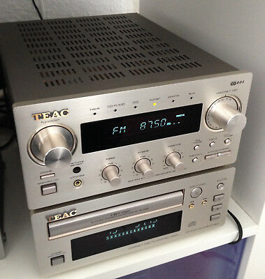 Teac Reference Receiver AG-H300 & Teac CD Player PD-H300C kompakte Stereoanlage