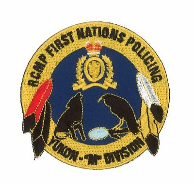 Kanada:Abzeichen Polizei RCMP First Nations Policing Yukon M Division
