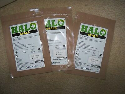 Halo Chest Seal Wound Seal ( 2 Per Package) Lot of Three Packs Exp 2020