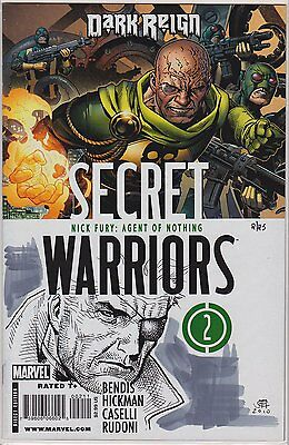 Secret Warriors #2 with Nick Fury sketch remark by Jim Cheung Dynamic Forces