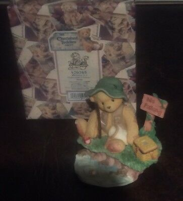 Cherished Teddies - Norm - Fishing Fisherman - Patience Is A Virtue - #476763