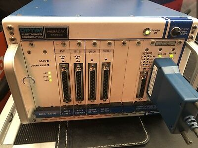 Optim MegaDAC 5406DC DATA ACQUISITION SYSTEM
