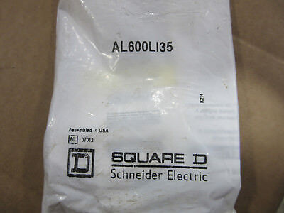 Square D AL600L135 Heavy Duty Lug NEW!!! in Sealed Bag Free Shipping