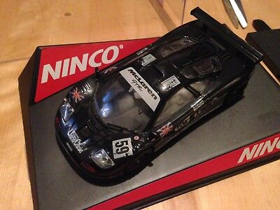 "Ninco McLaren F1 #59 "" Le Mans""1995 "" , Ueno Clinic, Art 50135 in Box"
