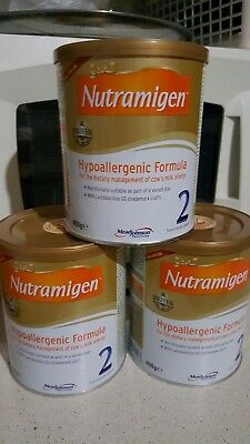 3x Nutramigen 2 with LGG Brand New Sealed  from 6 onwards Hypoallergenic