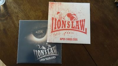 "Lion's Law – Open Your Eyes 10"" Oi Skinhead Streetpunk LP PREORDER VERSION"