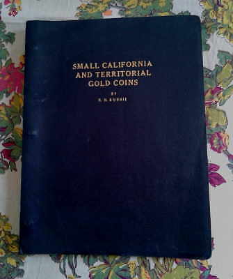 Small California and Territorial Gold Coins guide by RH Burnie - 1955