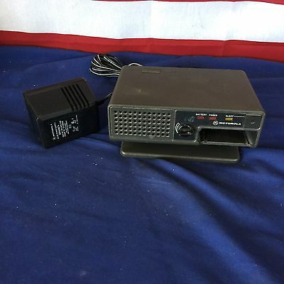 Motorola Minitor II Fire EMS Pager Amplified Charger with Power Supply