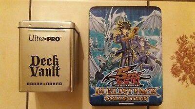 Yu-Gi-Oh! Ultra Pro: Deck Box Steel Alloy und LEERE Tin Box (Yusei)