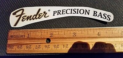 Fender Precision Bass Restoration Waterslide Decal FREE SHIP!