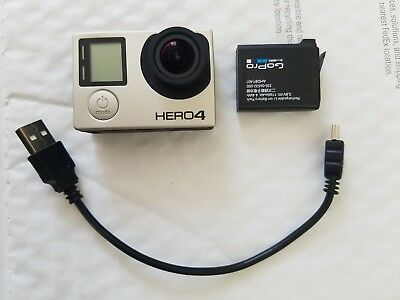 MINT GoPro HERO 4 BLACK ACTION CAMERA CAMCORDER