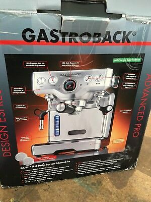 Espresso-Maschine GastroBack Advanced Pro