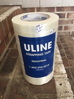 12 Rolls Strapping Tape 3/4 X 60 Yards