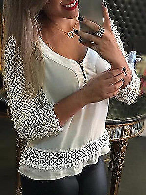 Blusas Y Camisas Mujer Vetement Femme Womens Tops Fashion Lace Blouse Women Blou