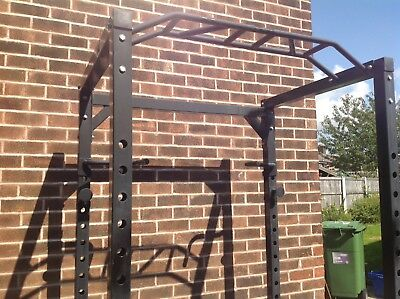 Ryno Olympic power squat rack. weight cage.