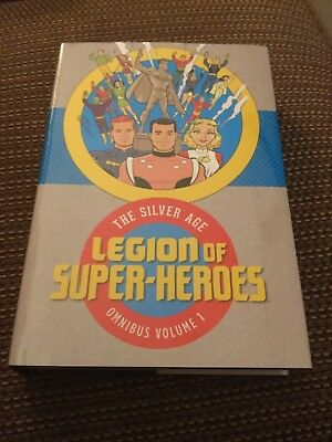 The Silver Age Legion of Superheroes Omnibus Vol 1 Hardcover DC Comics Superboy