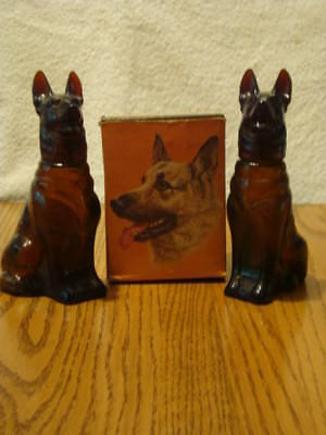 2 Vintage Avon Noble Prince German Shepherd Wild Country After Shave One Box