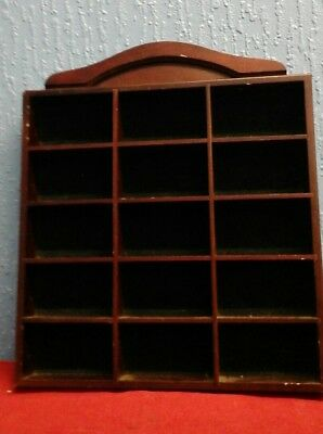 "Matchbox Models Of Yesteryear Display Cabinet 15"" X 15"""