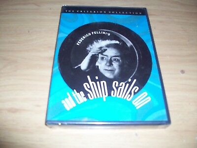 Criterion Collection: And The Ship Sails On! New & Sealed! Federico Fellini!!