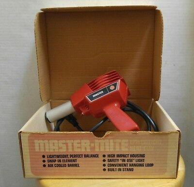Master- Mite 10008 heat gun 120v 4.5A, 3.8 CFM in box with accessories