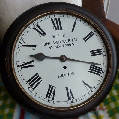Early 20thC FUSEE -   Single fusee Wall clock