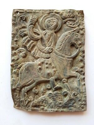 30a. Byzantine Medieval Church Ritual Plaque - 45x63 mm
