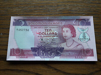 10 Dollars Solomon Islands