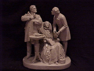 John Rogers Group of Statuary 'A Matter of Opinion''