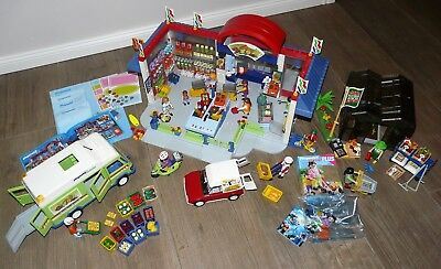 Playmobil XXL 3200 Supermarkt mit 3201, 3204, 4411, 4481, 3946, 4782 uvm. TOP!!