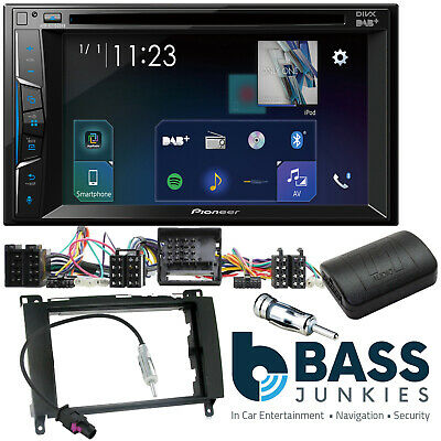 """Volkswagen Crafter 2006-17 Pioneer 6.2"""" DAB DVD CD MP3 USB Car Stereo Player Kit"""