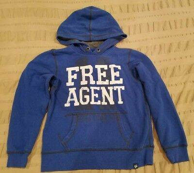 Brothers Boys Sweatshirt FREE AGENT Graphic Size XS 7 !LOOK!