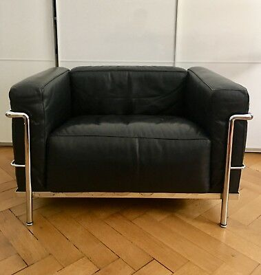 Cassina Le Corbusier LC3 Le Grand Confort Bauhaus Sessel