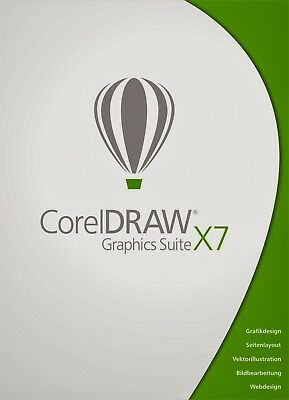 Corel DRAW Graphics Suite X7 (Box) (1) - Vollversion für Windows