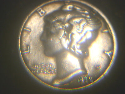 1938-D Mercury Dime In Nice Condition.rare.add To Set Or Collection.