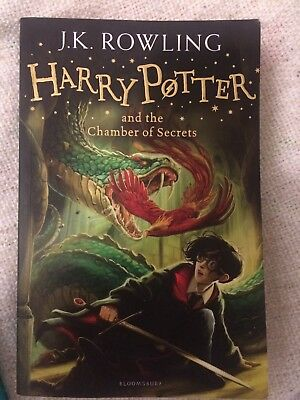 Harry Potter and the Chamber of Secrets Joanne K. Rowling Englisch Ungelesen!!